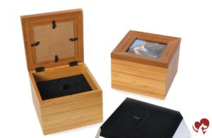 Urna caja tributo interior